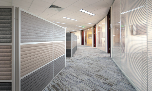 Sound absorption PARTITION