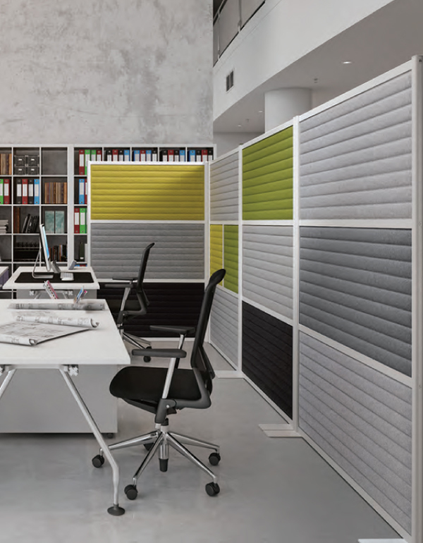 Sound absorption partition – MX
