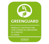 US UL Greenguard Gold
